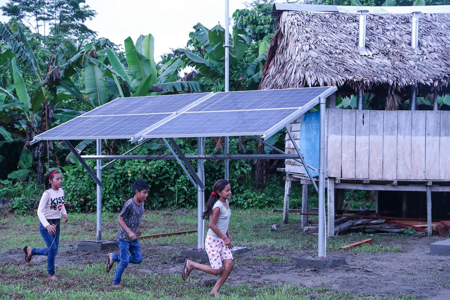 Electrificación rural Peru
